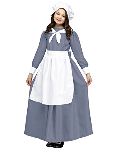 Pilgrim Girl Costume For Kids