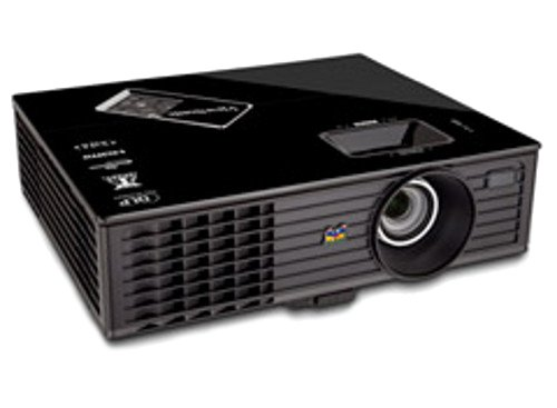 View sonic pjd6553w 1080p front projector 300 inches for Best projector for apple products