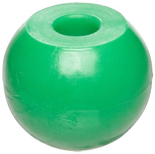 Molecular Models Green Plastic Chlorine Monovalent Atom Center, 17mm Diameter (Pack of 25)