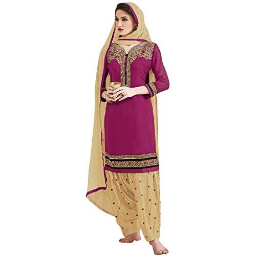 Designer-Partywear-Georgette-Patiala-Salwar-Kameez-Embroidered-Indian