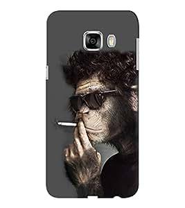 EPICCASE Smoking monkey swag Mobile Back Case Cover For Samsung C5 (Designer Case)
