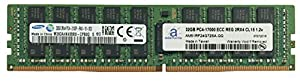 Samsung Original 32GB (1x32GB) Server Memory Upgrade for Cisco UCS C460 M4 DDR4 2133MHz PC4-17000 ECC Registered Chip 2Rx4 CL15 1.2V DRAM Adamanta