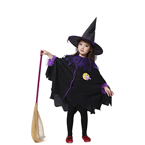 Coobl® Halloween Witch Party Costume Cosplay Theater Performance Apparel