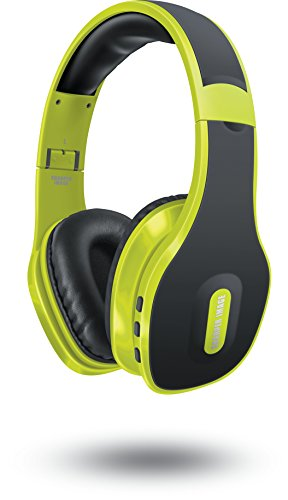 sharper-image-sbt559lm-universal-wireless-bluetooth-40-headphones-with-mic-lime