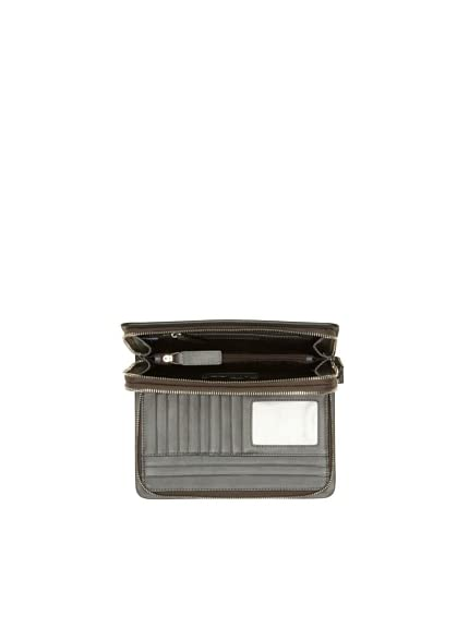 Cerruti Men's Zip-Around Organizer, Nero
