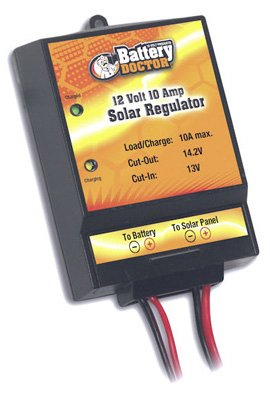 WirthCo 23122 Battery Doctor 12V 10 Amp Solar Regulator