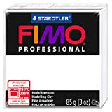 Staedtler Fimo Professional Soft Polymer Clay, 3-Ounce, White