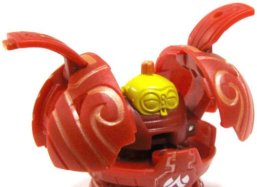 Bakugan Battle Brawlers B2 Single Loose Figure Pyrus Red CLAYF - 590G [Toy] - 1