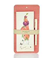 Bear & Bird Magnetic Shopping List