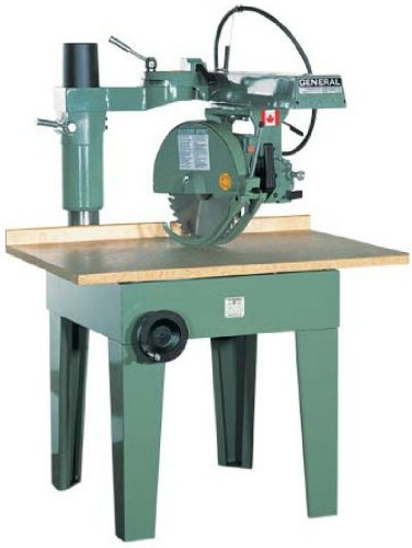 General International 14-Inch Radial Arm Saw 5HP 3/440/60