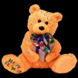 Ty Beanie Bear - Happy Birthday