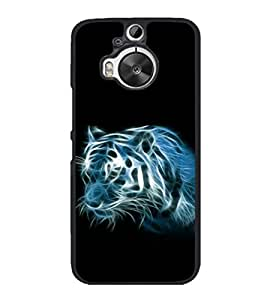 printtech Tiger Streaks Back Case Cover for HTC One M9 Plus