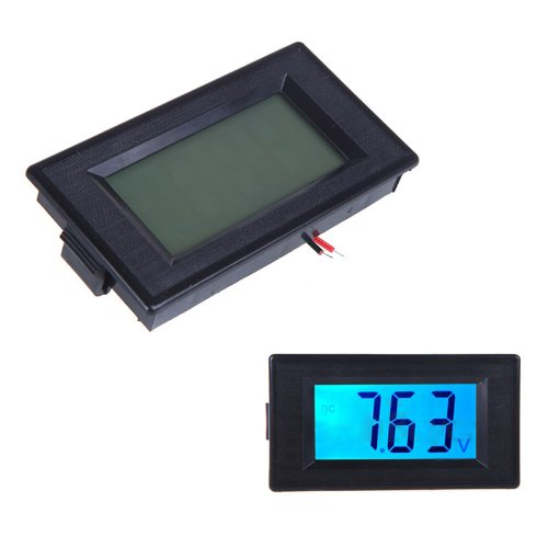 Docooler Digital Voltage Meter Voltmeter Dc7.5-19.99V Lcd Display