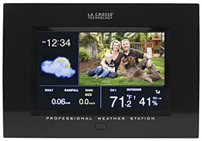 La Crosse Technology 308-807 Color Professional Weather Station with Digital Photo and Remote from La Crosse Technology