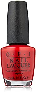 OPI Nail Polish, Big Apple Red, 0.5 fl. oz.