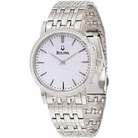 Bulova 96E110 Classy Diamond Bracelet Men's Watch