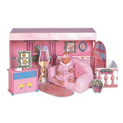 Baby Born Mini World Nursery Room With Couch & Changing Table By Zapf Creation Miniworld front-751777