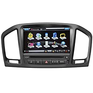Koolertron For 2010 2011 2012 2013 Opel Insignia Car DVD GPS Navigation With dual-core/ 2 Zone POP/6 Disc CDC/ RDS Radio / Support steering wheel control (8G sd card with 3D navi map)