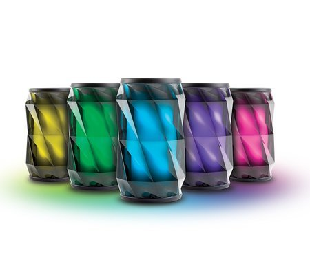 ihome ibt74 color changing bluetooth rechargeable speaker