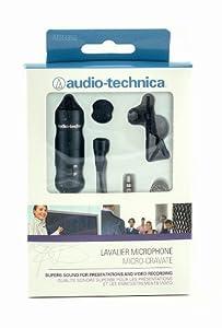 Audio-Technica ATR-3350 Lavalier Omnidirectional Condenser Microphone