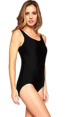 Reypo Women's Soft Cup One Piece Swimsuit with Tummy Control