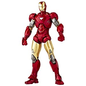 Iron Man Revoltech SciFi Super Poseable Action Figure Iron Man
