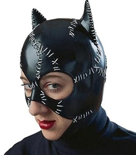 [R12442/51 Latex Catwoman Mask] (Latex Catwoman Costumes)