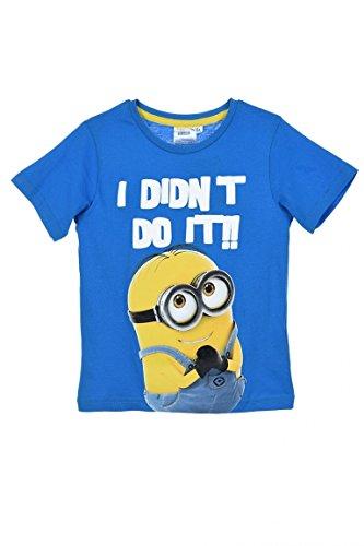 T-shirt Bambino Minions Blu Oltremare (8 anni, Blu Oltremare)