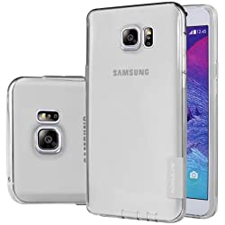 Nillkin Case for Samsung Galaxy Note 5 - Grey Nature Series Soft TPU Back Skin Flexible Pouch