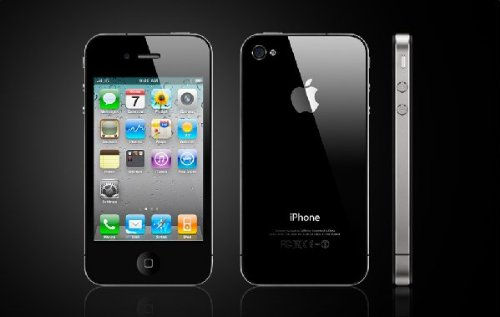 Apple iPhone 4S 64GB Unlocked Cell Phone with U.S. Warranty – Black