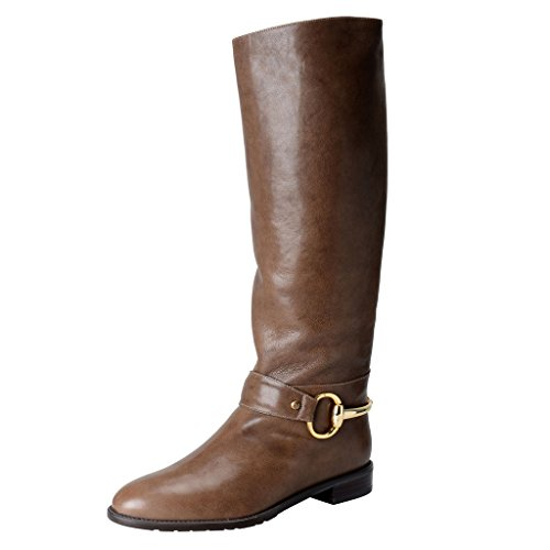 Stuart Weitzman Womens Leather Riding Boots Shoes