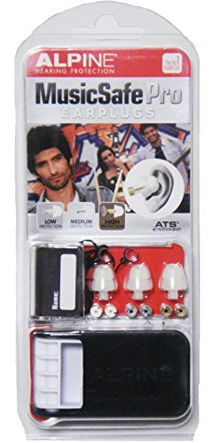 Alpine MusicSafe PRO pro musicians hearing protection ear plugs white loss prevention thong set for [parallel import goods] (Alpine Hearing Protection Pro compare prices)