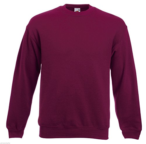 fruit-of-the-loom-mens-setin-sweatshirt-jumper-burgundy-xl