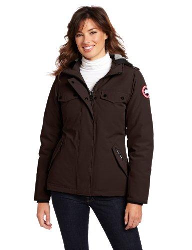Canada Goose Women's Burnett Parka (Caribou, Small) (Burnett Canada Goose compare prices)
