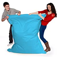 Big Brother Beanbags X-L funky bean bags, great for indoors or outdoors (AQUA) by Beautiful Beanbags
