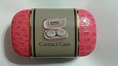 Tri-Coastal Design Pink Snakeskin Contact Case
