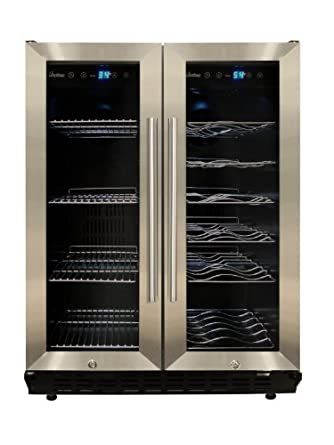 VT-36 Wine and Beverage Cooler in Silver
