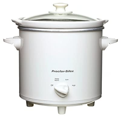 Proctor Silex 33040 4-Quart Round Slow Cooker from Proctor Silex