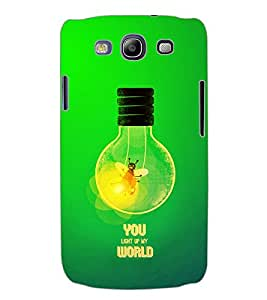 ColourCraft Quotes Back Case Cover for SAMSUNG GALAXY S3 NEO I9300I