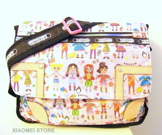 XIAOMEI Colourful Cartoon Children A4 Messenger Style Bag 626F for School or college etc. by XIAOMEI