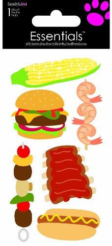Sandylion BBQ Food Essentials Sticker, Large