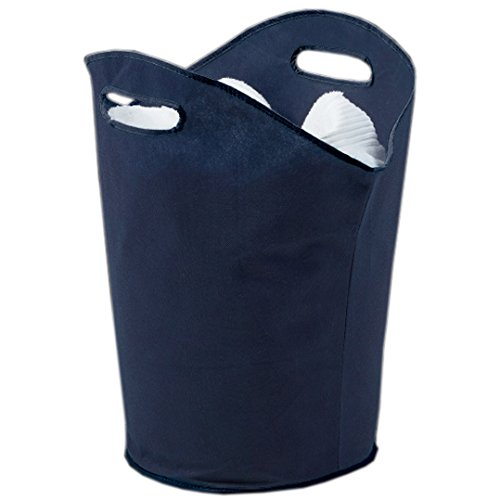 h-and-l-russel-laundry-hamper-with-handles-marine-blue