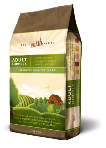 Merrick Whole Earth Farms Adult Dry Dog Food, 35-Pound Bag