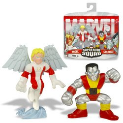 Buy Low Price Hasbro Marvel Legends: Hero Squad – Colossus and Angel Figure Two-Pack (B000NZOWKQ)
