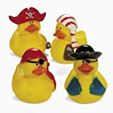 Pirate Rubber Ducks (1 dz)