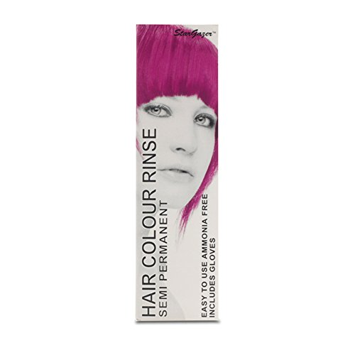 Stargazer Semi-Permanent Hair Colour Dye x 2 Packs Magenta Pink (Stargazer Hair Color compare prices)