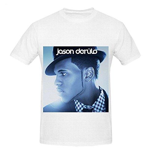 Jason Derulo Jason Derlo Funk Men Crew Neck Customized T Shirts White (White Facing Insulation compare prices)