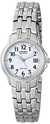 Citizen Womens EW1540-54A Eco-Drive Silhouette Sport Stainless