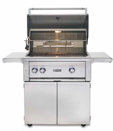 Lynx L500 30 Built-In Natural Gas Grill w/Rotisserie & 2 Stainless Tube Burners (L500R-NG)