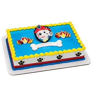 Edible Cake Decorations Paw Patrol : Amazon.com: PAW Patrol Edible Cake Decorating Set - DecOn ...